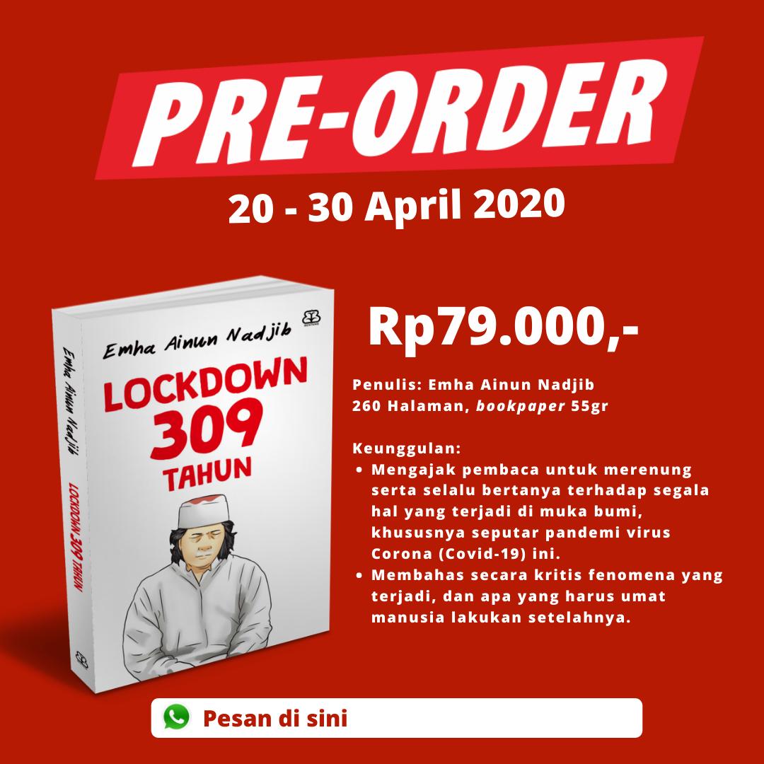 Pre- Order Lockdown 309 Tahun