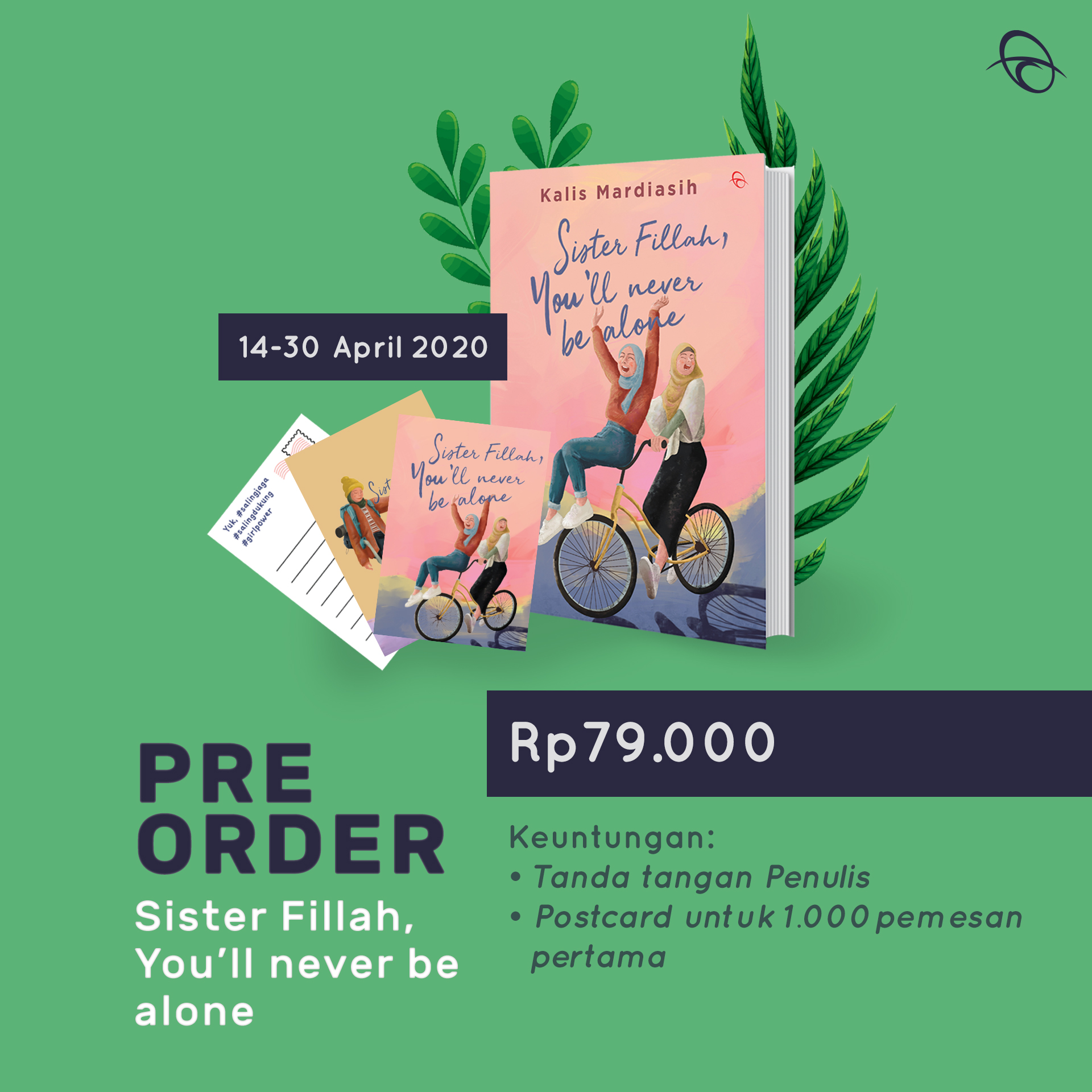 Pre- Order SISTER FILLAH,YOU'LL NEVER BE ALONE