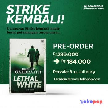 Pre-Order Lethal White  - Robert Galbraith