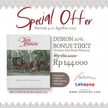 Special Offer Photobook Bumi Manusia