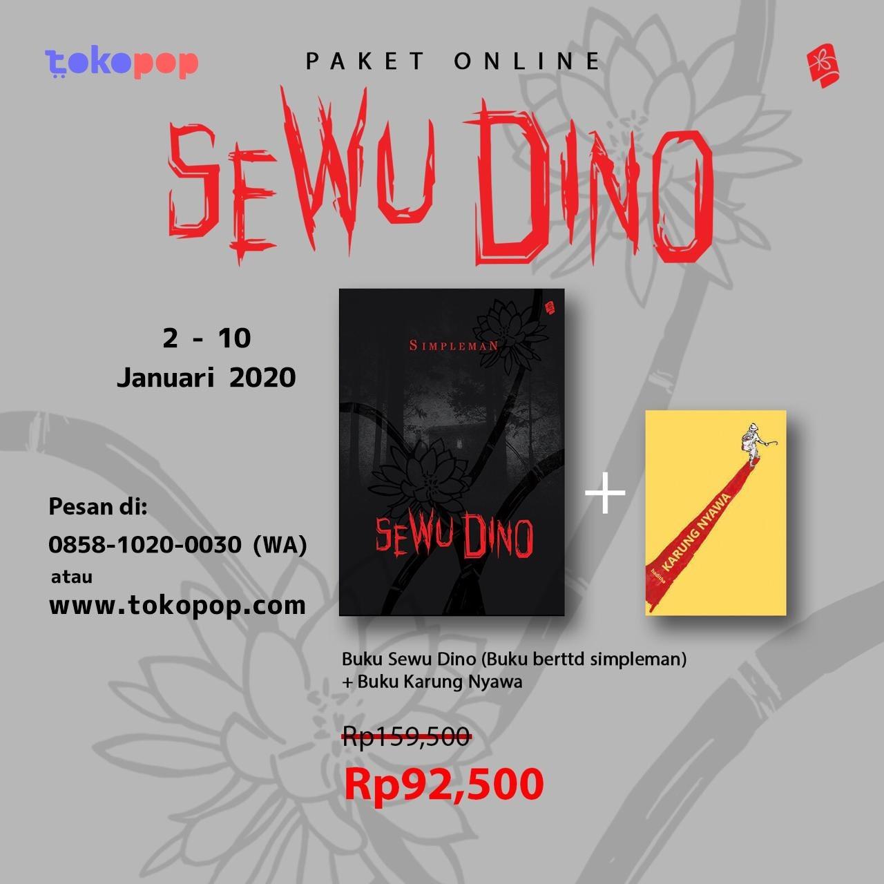 Pre-Order Sewu Dino - Simpleman