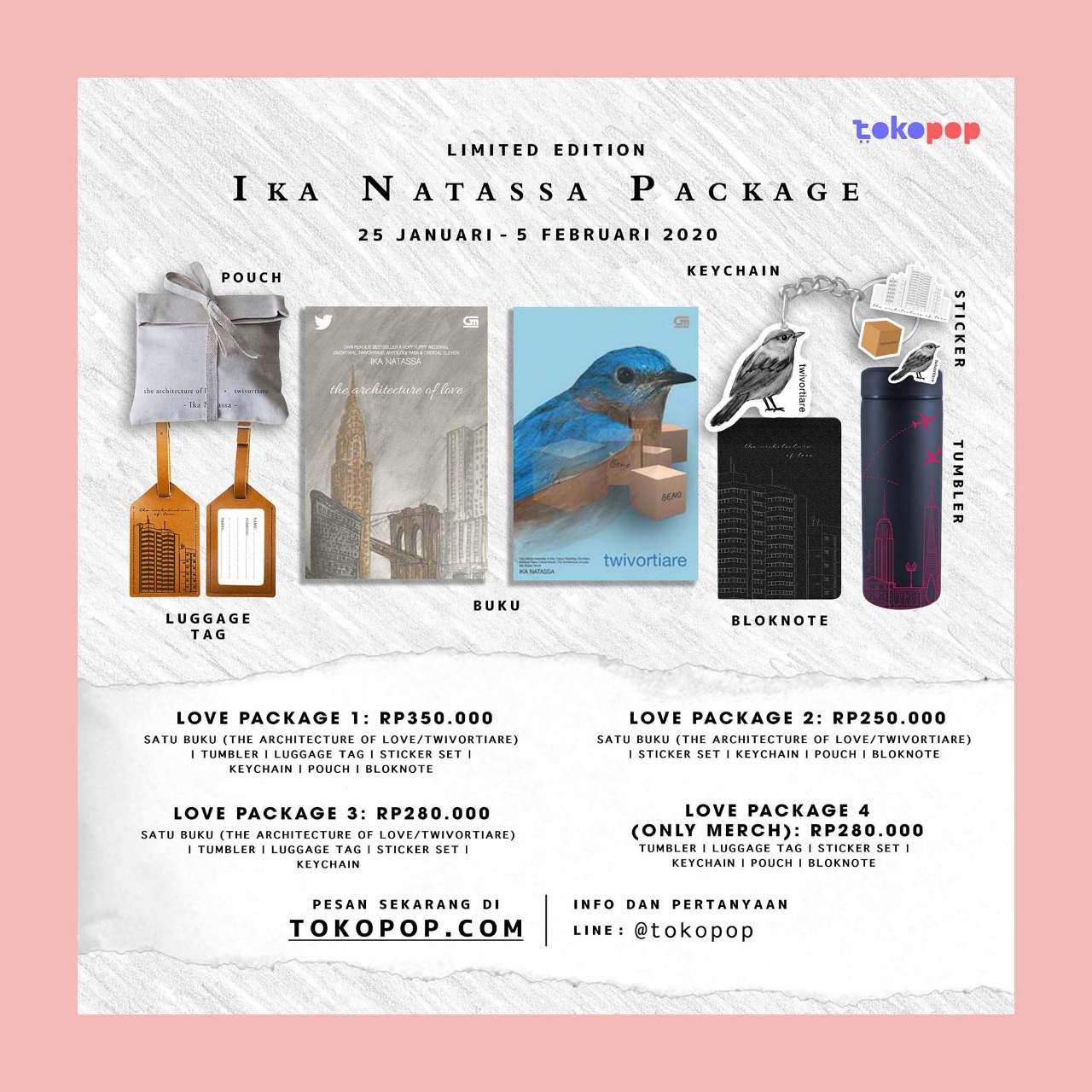Limited Edition Ika Natassa Package