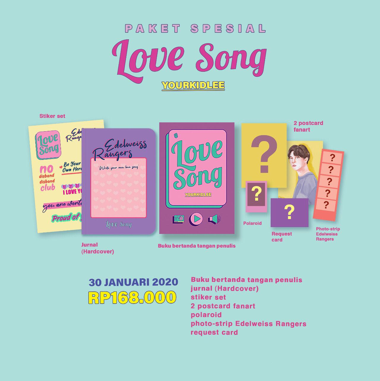 Paket Spesial Love Song - Yourkidlee