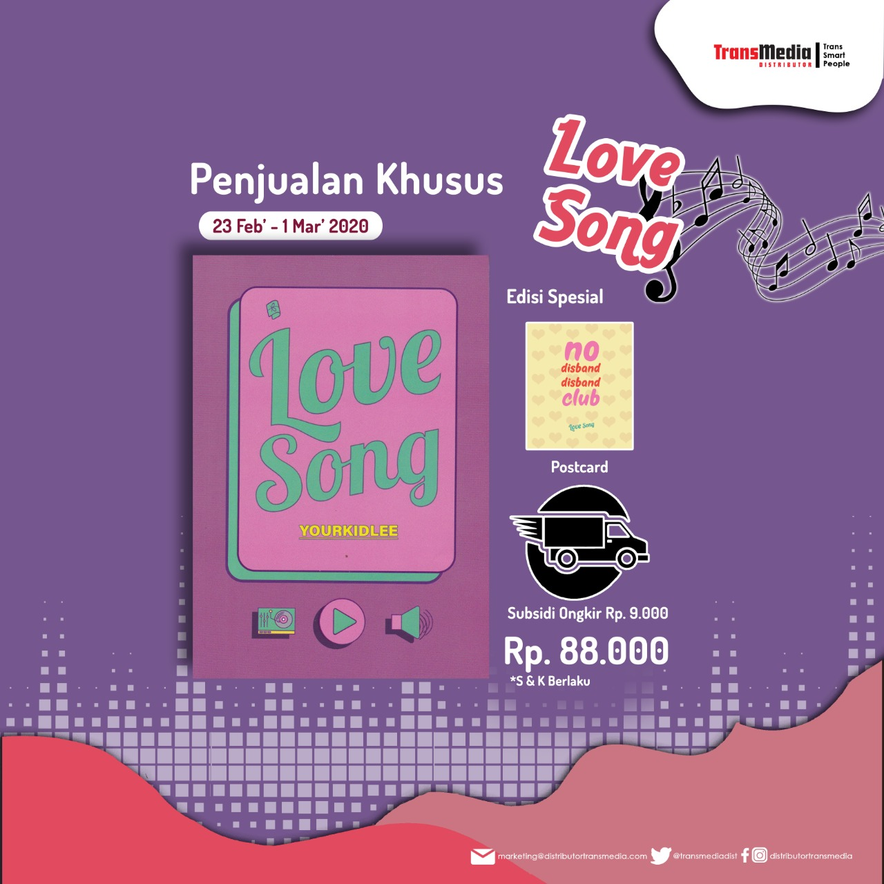 Special Offer Love Song - YOURKIDLEE