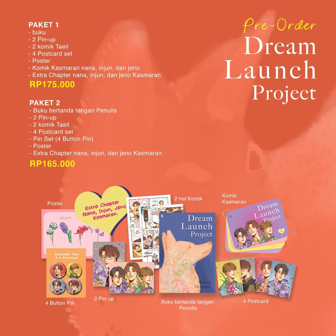 Pre- Order Dream Launch Project