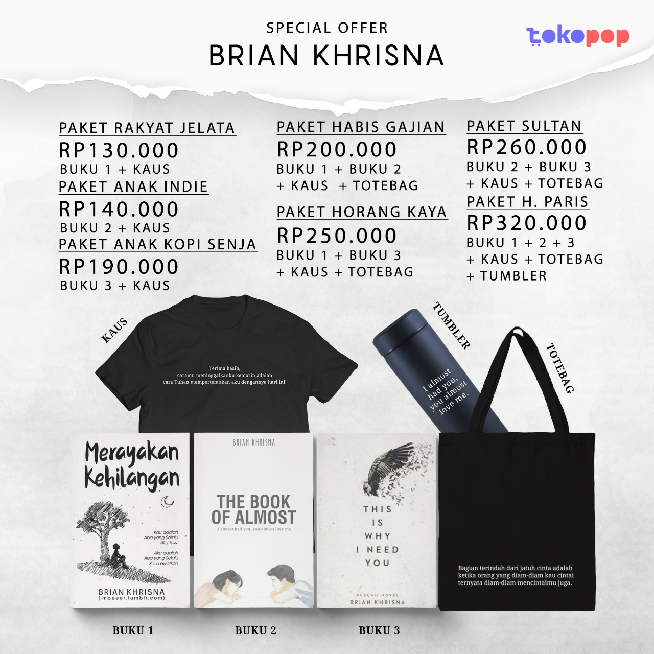 Special Offer Brian Khrisna