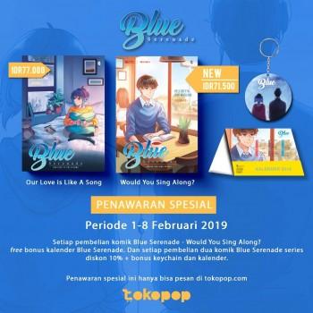 Paket Spesial Blue Serenade Series