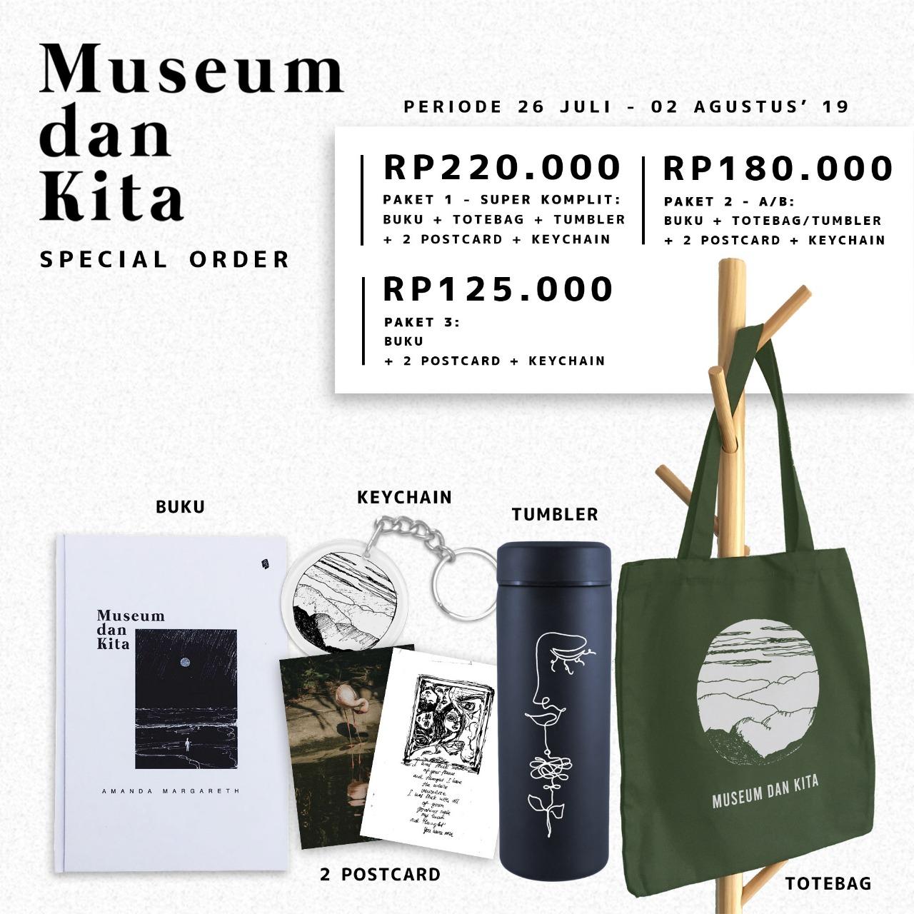 Special Order Museum Dan Kita - Amanda Margareth